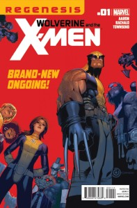 Wolverine and the X-Men #1 Cover (Marvel Comics)