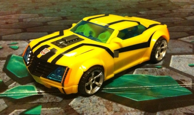 Transformers Prime Bumblebee Sports Car Vehicle Mode