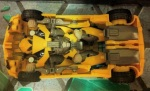 Transformers Prime Bumblebee Sports Car Vehicle Mode Undercarriage