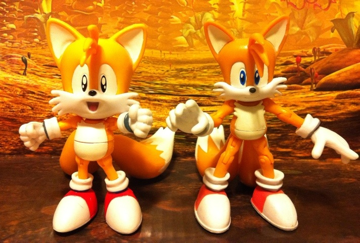 Toy Review Classic 1992 Tails Grabber 20th Anniversary Sonic The Hedgehog Action Figures Dabid S Blog