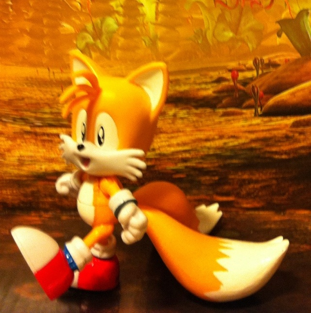 Kids Play With Sonic Exe Toys And Super Sonic Exe Toys: TOY REVIEW: Classic 1992 Tails & Grabber 20th Anniversary