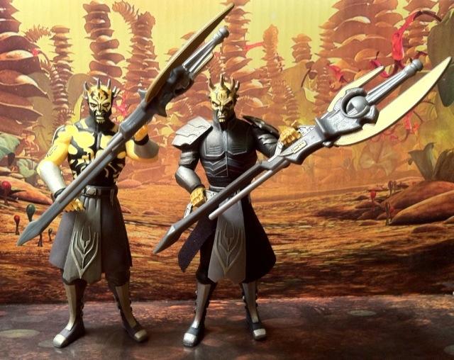 Clone Wars Savage Opress Figures Comparison