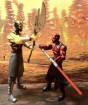 Darth Maul vs. Savage Opress Clone Wars