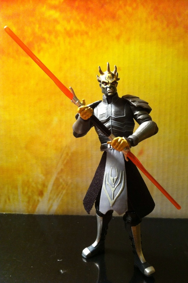 Star Wars The Clone Wars Toys : Toy review savage opress armored star wars clone