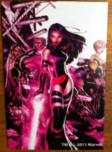 "Marvel Universe Psylocke ""Collectible Comic Shot"""