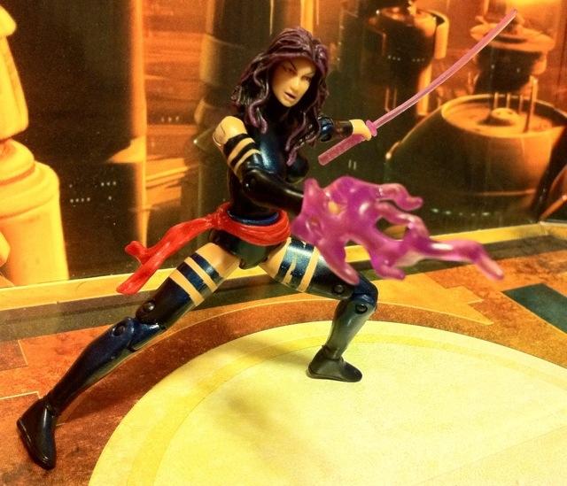 Marvel Universe Psylocke Action Figure Wave 17