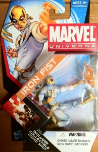 Packaged Iron Fist Modern White Marvel Universe 2012 Wave 17