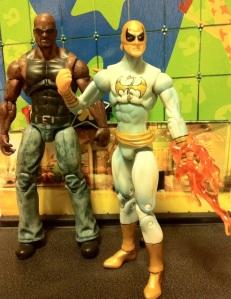 Luke Cage Power Man and Iron Fist Modern White Marvel Universe 2012 Wave 17