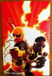 Iron Fist Modern White Marvel Universe 2012 Wave 17 Collectible Comic Shot