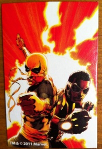 Iron Fist Modern White Marvel Universe 2012 Wave 17 Collectible Comic Shot