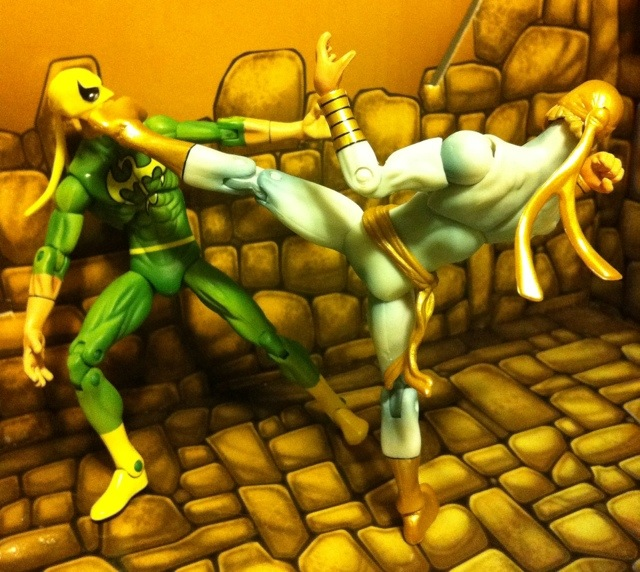 Iron Fist Modern White Marvel Universe 2012 Wave 17