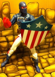 Marvel Universe 2012 Young Avengers Patriot Action Figure Wave 17
