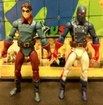 Bucky and Marvel Universe 2012 Young Avengers Patriot Action Figure Wave 17