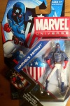Marvel Universe 2012 Patriot Action Figure Wave 17 Packaged