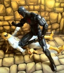 Iron Fist vs. Shadowland Daredevil Marvel Universe 2012 Action Figure