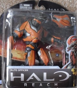McFarlane Toys Halo Reach Series 2 Elite Officer (Orange) Action Figure