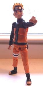 """Uzumaki Naruto 4"""" Naruto Shippuuden Action Figure by Toynami"""